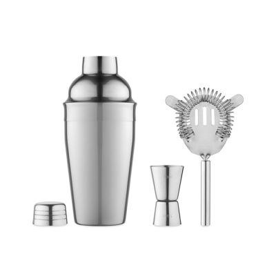 Picture of COCKTAIL SET in Stainless Steel Silver