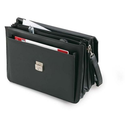 Picture of DOCUMENT BAG in Black PU