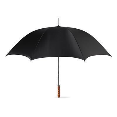Picture of GOLF UMBRELLA with Wood Grip in Black