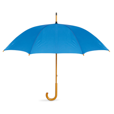 Picture of UMBRELLA with Wood Grip in Royal Blue