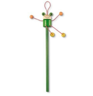 Picture of FUNNY HEAD PENCIL in Green