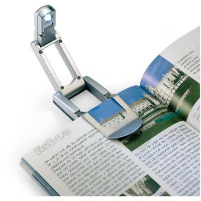 Picture of POP UP BOOK READING LAMP in Silver