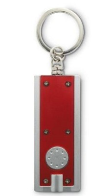Picture of LED TORCH KEYRING in Translucent Red