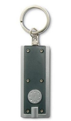 Picture of LED TORCH KEYRING in Translucent Grey
