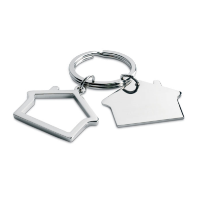 Picture of METAL KEYRING HOUSE SHAPE