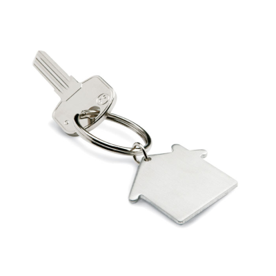 Picture of METAL KEY HOLDER KEYRING HOUSE