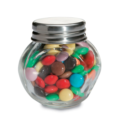 Picture of CHOCOLATE GLASS JAR