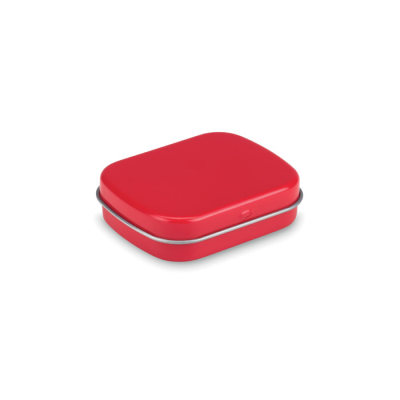 Picture of EASY TIN with Mints in Red