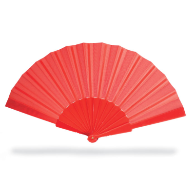 Picture of CONCERTINA HAND FAN in Red