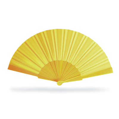 Picture of CONCERTINA HAND FAN in Yellow