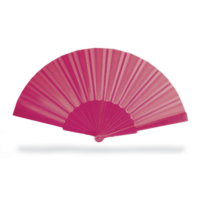 Picture of CONCERTINA HAND FAN in Fuchsia Pink
