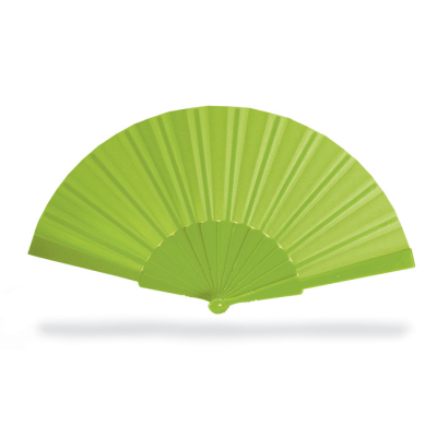 Picture of CONCERTINA HAND FAN in Lime Green