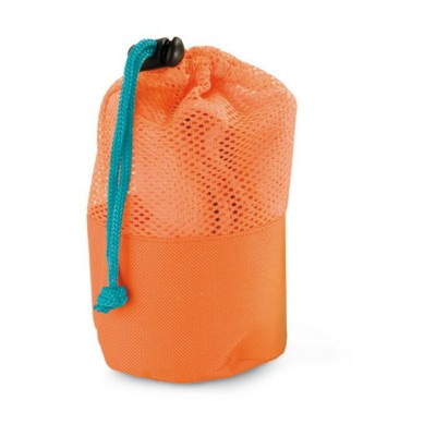 Picture of SPORTS TOWEL in Mesh Pouch in Orange