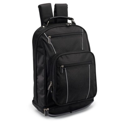 Picture of LAPTOP COMPUTER BACKPACK RUCKSACK in Black