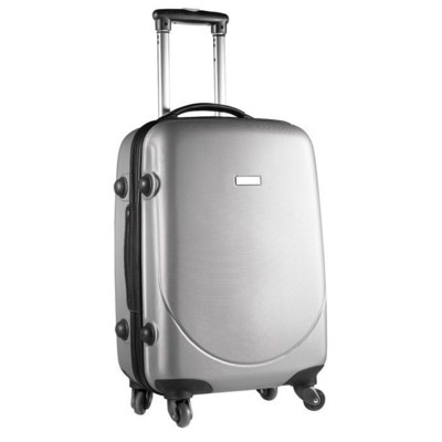 Picture of 20 INCH ABS TROLLEY SUITCASE in Matt Silver