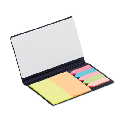 Picture of MEMOFF INDEX FLAG MARKER SET & NOTE PAD SET in Black