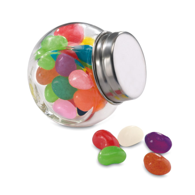 Picture of GLASS JAR with Jelly Beans