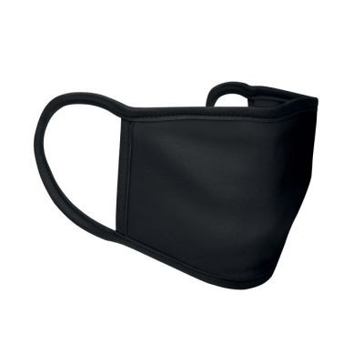 Picture of 3 LAYER POLYESTER FACE COVER in Black