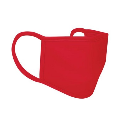 Picture of 3 LAYER POLYESTER FACE COVER in Red