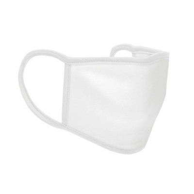 Picture of 3 LAYER POLYESTER FACE COVER in White
