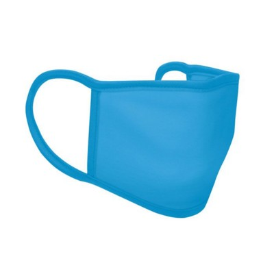 Picture of 3 LAYER POLYESTER FACE COVER in Turquoise