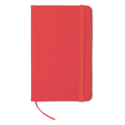 Picture of 96 PAGE NOTE BOOK with Lined Paper in Red