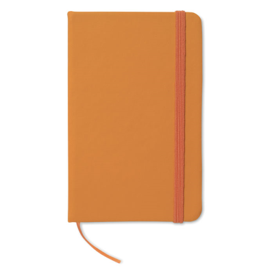 Picture of 96 PAGE NOTE BOOK with Lined Paper in Orange