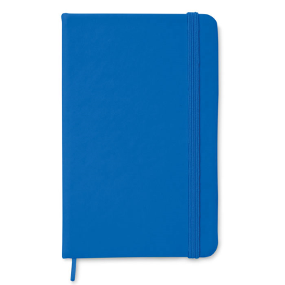 Picture of A6 NOTE BOOK with Soft PU Cover & 96 Lined Pages Closed with an Elastic Rubber Band