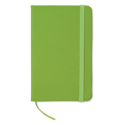 Picture of 96 PAGE NOTE BOOK with Lined Paper in Lime