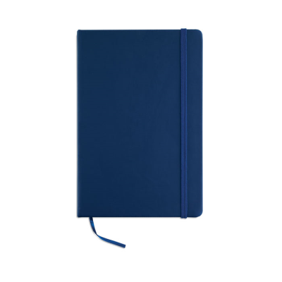 Picture of A5 CUBE BLOCK NOTE with Lined Paper in Blue
