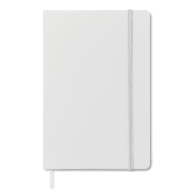 Picture of A5 CUBE BLOCK NOTE with Lined Paper in White