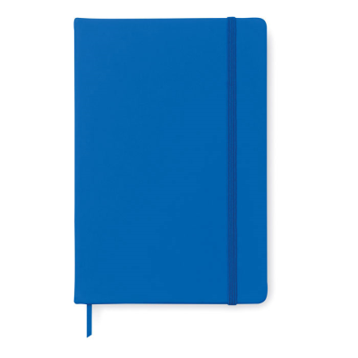 Picture of A5 NOTE BOOK with Soft PU Cover & 96 Lined Pages Closed with an Elastic Rubber Band