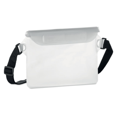 Picture of WATERPROOF WAIST BAG in Transparent White