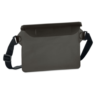 Picture of WATERPROOF WAIST BAG in Transparent Grey