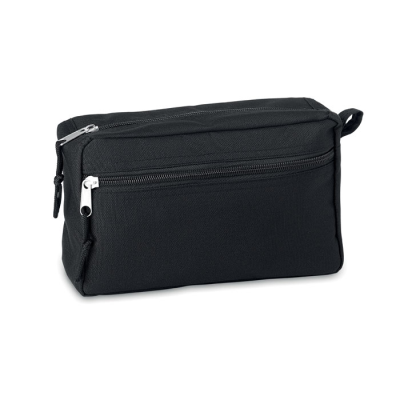 Picture of 600D RPET WASH BAG in Black