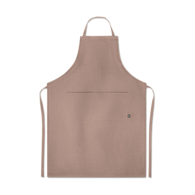Picture of HEMP ADJUSTABLE APRON 200 GR & M² in Brown