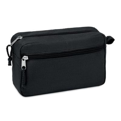 Picture of HEMP WASH BAG HEMP 200 GR & M² in Black