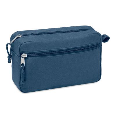 Picture of HEMP WASH BAG HEMP 200 GR & M² in Blue