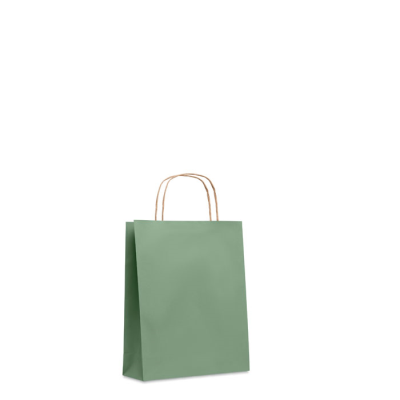 Picture of SMALL GIFT PAPER BAG 90 GR & M² in Green