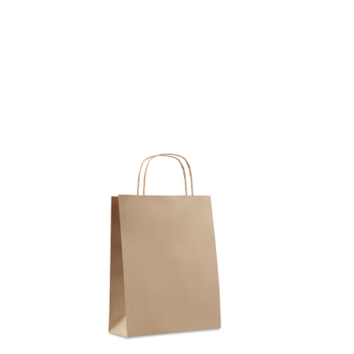 Picture of SMALL GIFT PAPER BAG 90 GR & M² in Beige