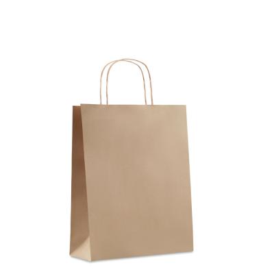 Picture of MEDIUM GIFT PAPER BAG 90 GR & M² in Beige