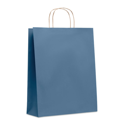 Picture of LARGE GIFT PAPER BAG 90 GR & M² in Blue