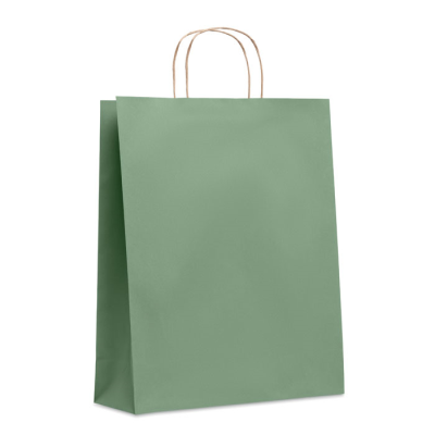 Picture of LARGE GIFT PAPER BAG 90 GR & M² in Green