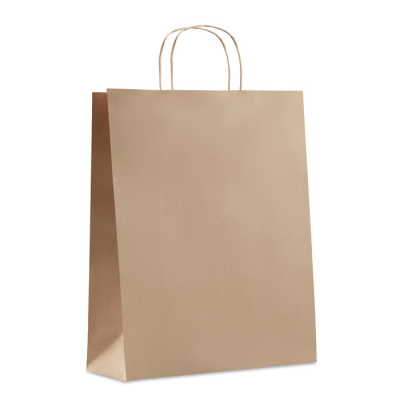 Picture of LARGE GIFT PAPER BAG 90 GR & M² in Beige