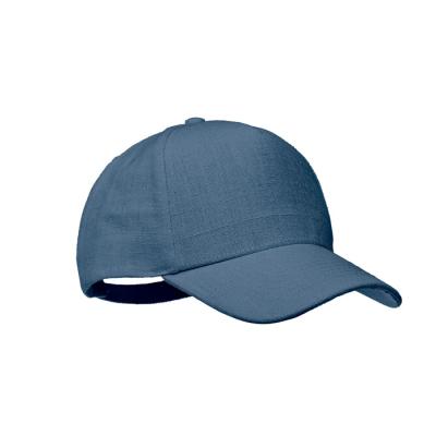Picture of HEMP BASEBALL CAP 370 GR & M² in Blue