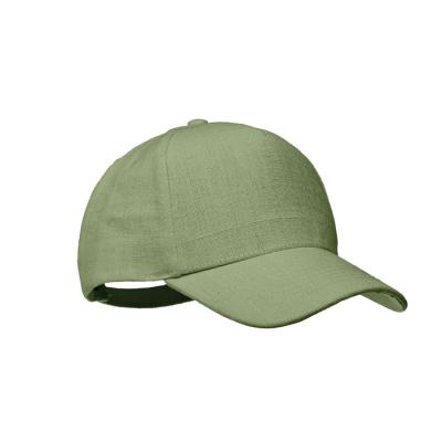 Picture of HEMP BASEBALL CAP 370 GR & M² in Green