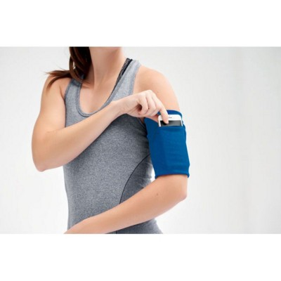 Picture of USEFUL POLYESTER ARM POUCH in Royal Blue