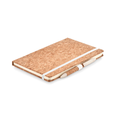 Picture of A5 CORK NOTE BOOK AND PEN SET