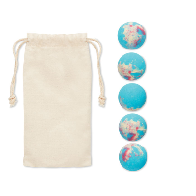 Picture of 5 EFFERVESCENT BATH BOMBS