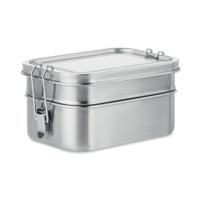 Picture of STAINLESS STEEL METAL LUNCH BOX